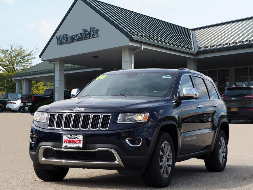 Photo Certified Pre-Owned 2016 Jeep Grand Cherokee Limited 4x4 Limited SUV in Warwick near Ramsey, NJ
