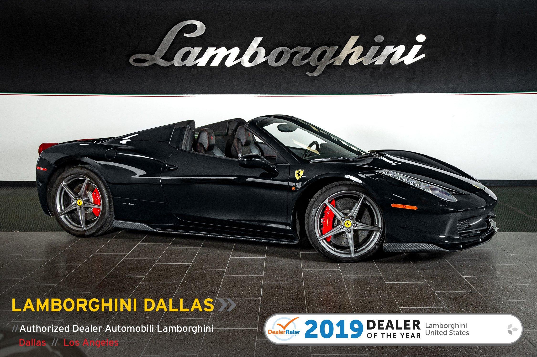Photo Used 2014 Ferrari 458 Italia For Sale Richardson,TX  Stock L1187 VIN ZFF68NHAXE0203578