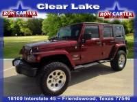 2008 Jeep Wrangler Unlimited Sahara SUV near Houston