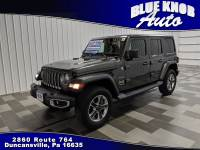2019 Jeep Wrangler Unlimited Sahara 4x4 SUV in Duncansville | Serving Altoona, Ebensburg, Huntingdon, and Hollidaysburg PA