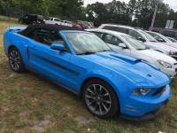 2012 Ford Mustang GT Convertible V8 Ti-VCT 32V