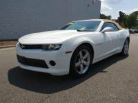 Pre-Owned 2014 Chevrolet Camaro LT w/2LT Convertible
