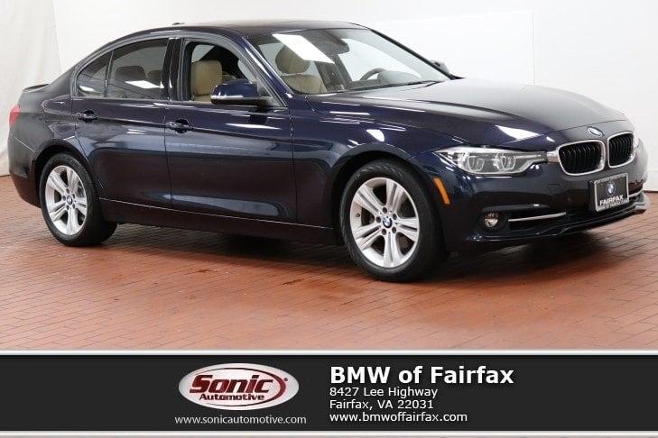 Photo Certified Used 2016 BMW 3 Series Sedan in Fairfax, VA