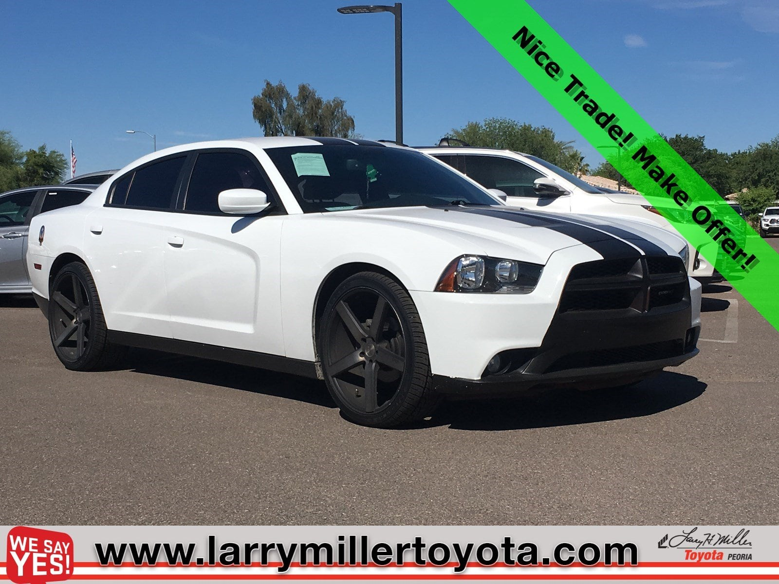 Photo Used 2014 Dodge Charger For Sale  Peoria AZ  Call 602-910-4763 on Stock 91191A