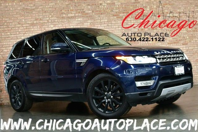 Photo 2015 Land Rover Range Rover Sport HSE - 3.0L V6 SUPERCHARGED ENGINE 4 WHEEL DRIVE NAVIGATION BACKUP CAMERA KEYLESS GO PANO ROOF BLACK LEATHER HEATEDCOOLED SEATS XENONS