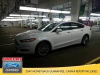 Certified 2016 Ford Fusion Titanium Sedan I-4 cyl in Richmond, VA