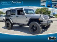 Pre-Owned 2014 Jeep Wrangler Unlimited Sport 4x4 SUV in Jacksonville FL