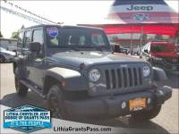 Certified Pre-Owned 2014 Jeep Wrangler Unlimited 4WD 4dr Sport Sport Utility in Grants Pass