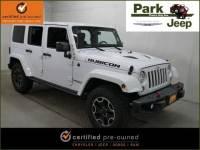 Used 2016 Jeep Wrangler JK Unlimited Unlimited Rubicon Hard Rock 4x4 SUV in Burnsville, MN.