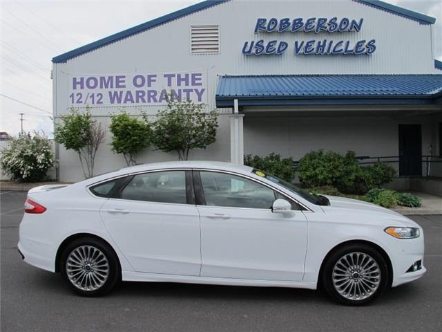 Photo Used 2014 Ford Fusion Titanium All-wheel Drive Sedan For Sale Bend, OR
