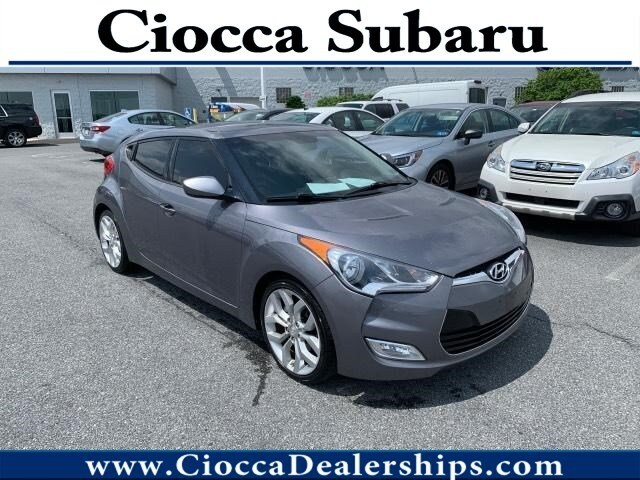 Photo Used 2012 Hyundai Veloster with Black Int For Sale in Allentown, PA