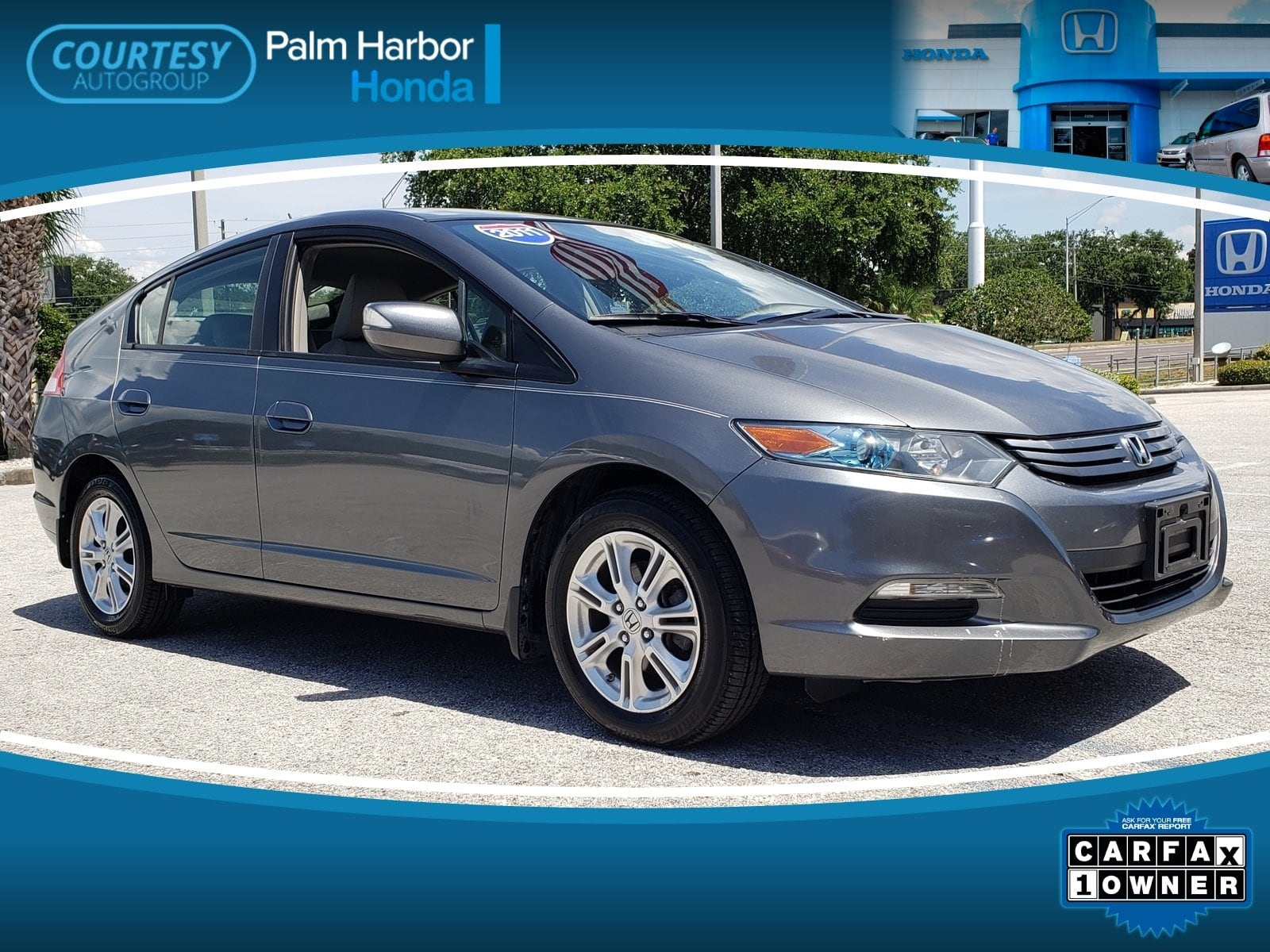 Photo Pre-Owned 2011 Honda Insight EX Hatchback in Tampa FL