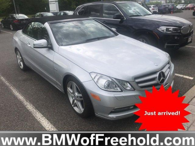 Photo Pre-Owned 2012 Mercedes-Benz E-Class E 350 Cabriolet for sale in Freehold,NJ