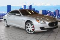 Certified Pre-Owned 2014 Maserati Quattroporte For Sale inThornton near Denver | Serving Arvada, Westminster, CO, Lakewood, CO & Broomfield, CO | VIN:ZAM56RRA8E1078365