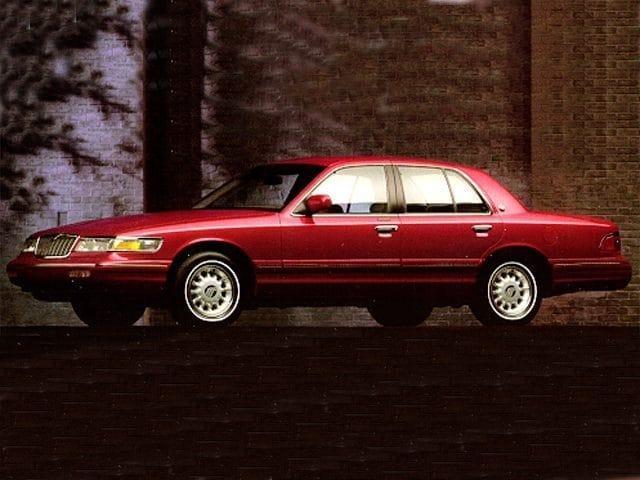 Photo 1995 Mercury Grand Marquis 4dr Sedan LS Sedan in Topeka KS