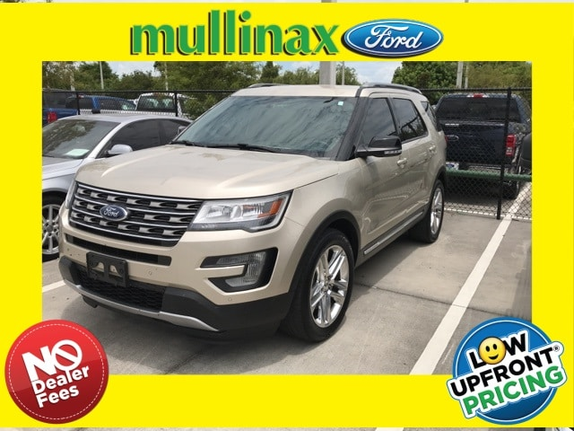 Photo Used 2017 Ford Explorer XLT W NAV, Blis, 20 Premium Wheels SUV V-6 cyl in Kissimmee, FL