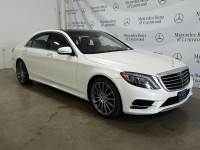 Certified Pre-Owned 2016 Mercedes-Benz S 550 4MATIC®
