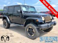 Used 2014 Jeep Wrangler Unlimited Dragon Edition SUV