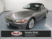 Pre-Owned 2003 BMW Z4 3.0i Roadster
