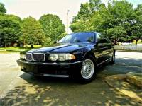 2000 BMW 740 IL BLACK/TAN