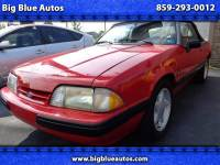 1991 Ford Mustang LX 5.0L convertible