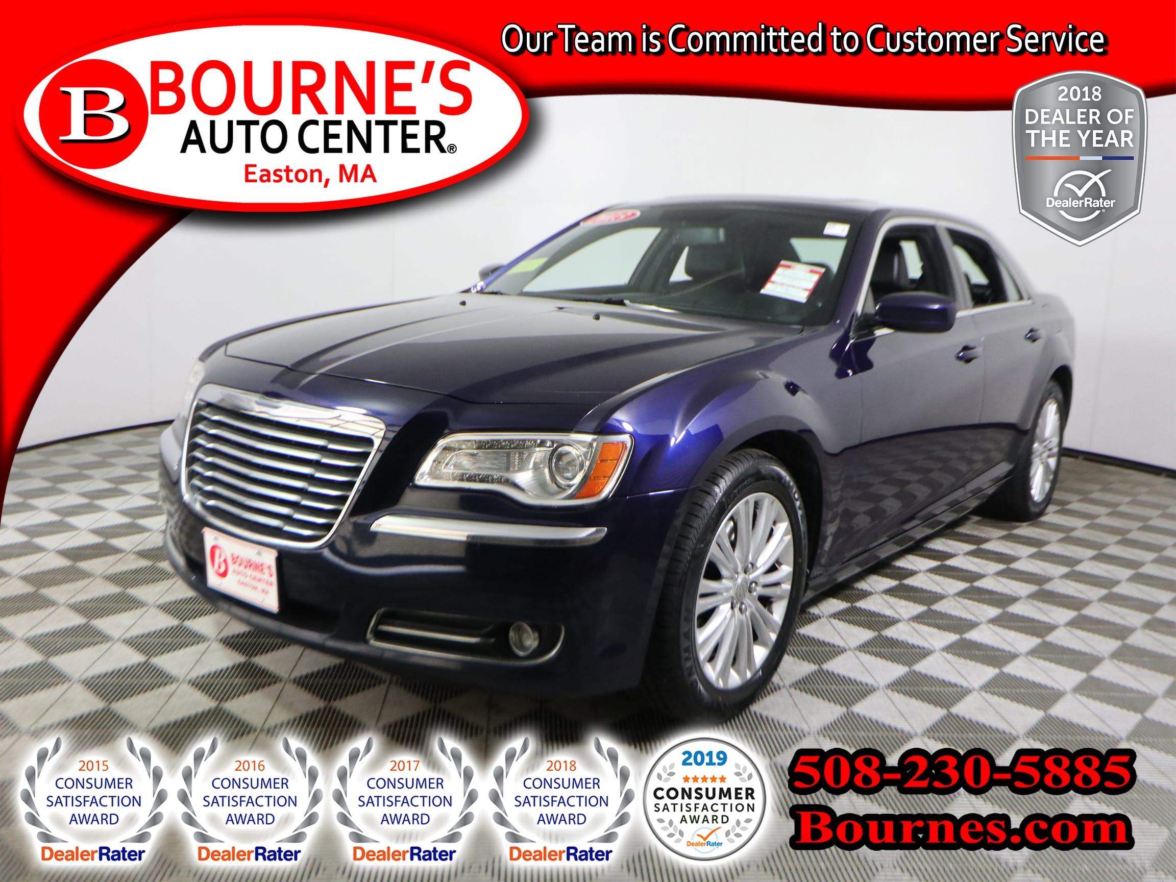 Photo 2013 Chrysler 300 AWD w Nav,Leather,Sunroof,Heated Front Seats.