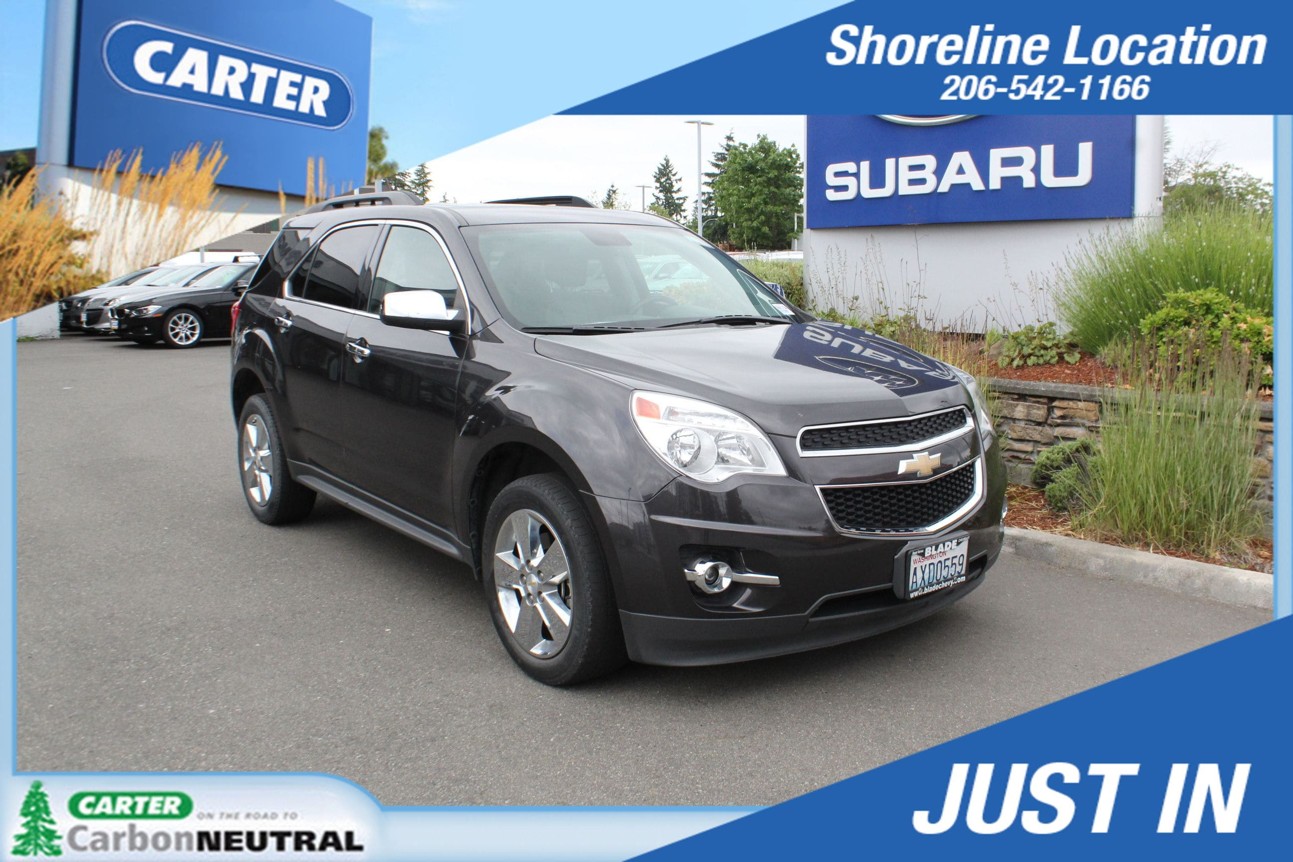 Photo 2015 Chevrolet Equinox LT For Sale in Seattle, WA