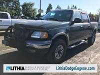 Used 2002 Ford F-150 SuperCrew Truck SuperCrew Cab in Eugene