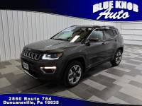 2018 Jeep Compass Limited 4x4 SUV in Duncansville | Serving Altoona, Ebensburg, Huntingdon, and Hollidaysburg PA