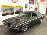 1969 Chevrolet Chevelle -SS396-PRICE DROP - FATHOM GREEN-NUMBERS MATCHING - HIGH END RESTORATION-SE