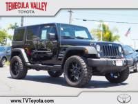 2017 Jeep Wrangler JK Unlimited Sport 4x4 SUV 4x4 in Temecula