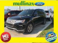 Used 2018 Ford Explorer Limited W/Twin Panel Moonroof, Sync Connect SUV V-6 cyl in Kissimmee, FL