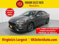 Used 2017 Ford Fusion Sport AWD Sedan for sale in Amherst, VA