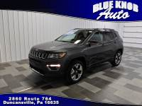 2019 Jeep Compass Limited 4x4 SUV in Duncansville | Serving Altoona, Ebensburg, Huntingdon, and Hollidaysburg PA