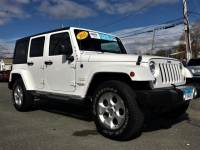 Certified Used 2015 Jeep Wrangler Unlimited Sahara 4x4 in Pittsfield MA