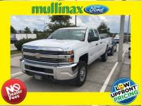 Used 2016 Chevrolet Silverado 2500HD Work Truck Truck Double Cab V-8 cyl in Kissimmee, FL