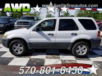 2006 Ford Escape XLT Sport 4WD 4-Speed Automatic