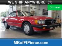 Pre-Owned 1987 Mercedes-Benz 500-Class 560 SL in Jacksonville FL