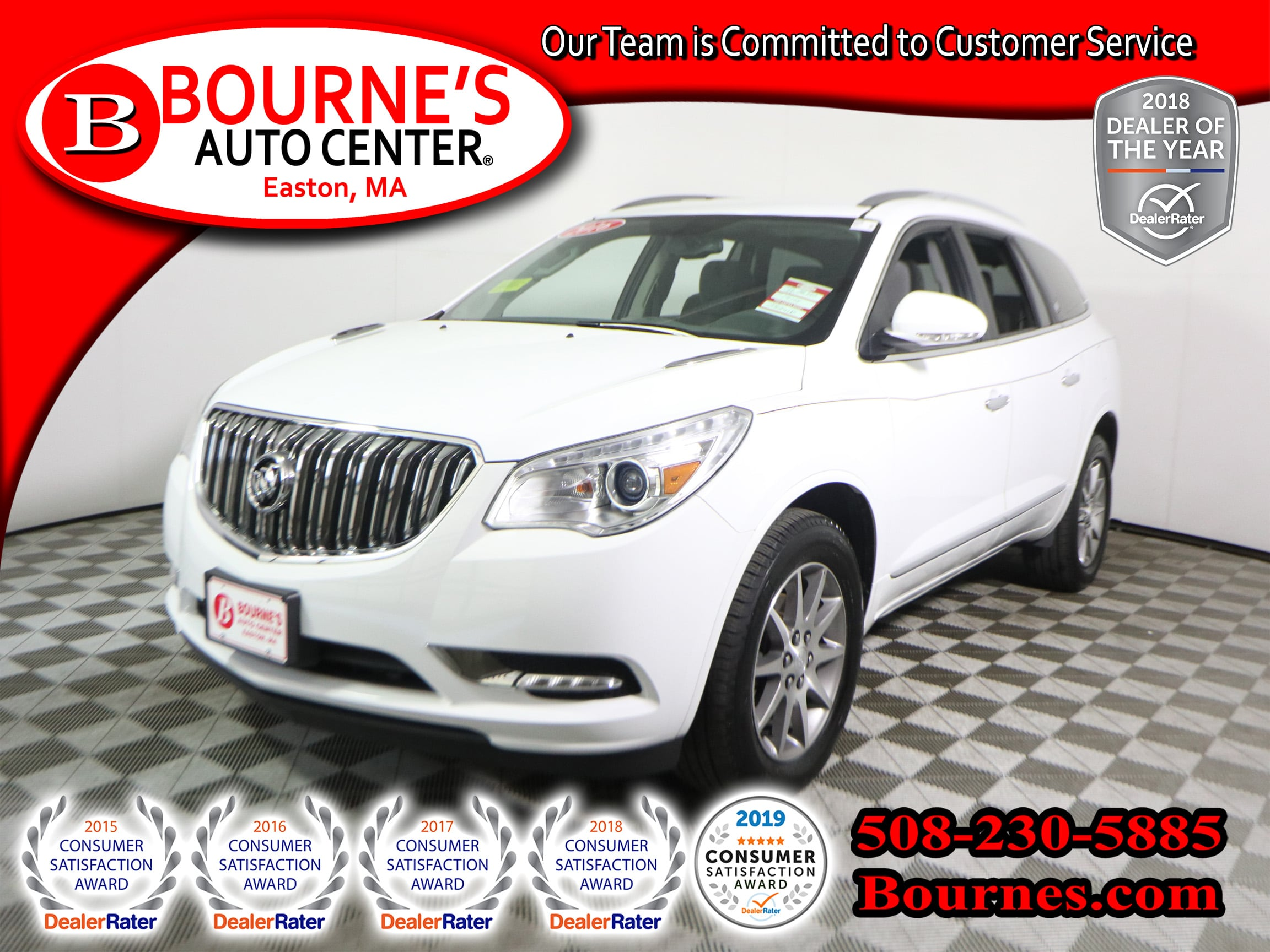 Photo 2016 Buick Enclave Convenience Pkg w Third Row Seating,Backup-Cam.