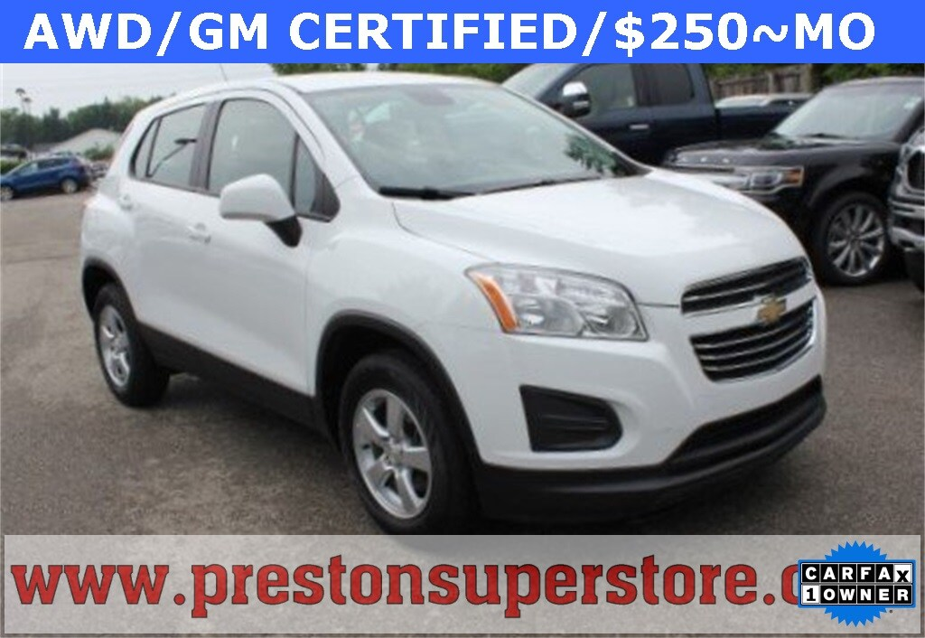 Photo Certified Used 2016 Chevrolet Trax LS SUV in Burton, OH