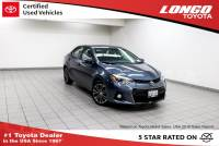 Certified Used 2014 Toyota Corolla CVT S Plus in El Monte