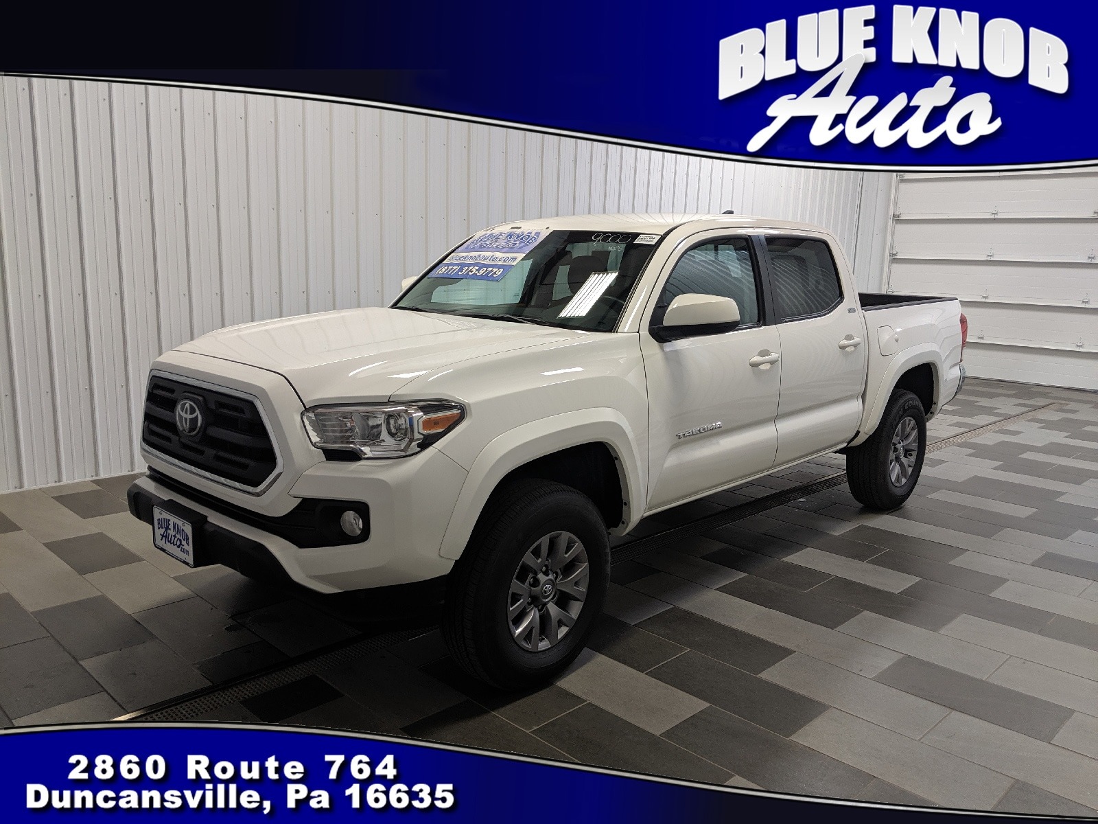 Photo 2019 Toyota Tacoma SR5 V6 Truck Double Cab in Duncansville  Serving Altoona, Ebensburg, Huntingdon, and Hollidaysburg PA