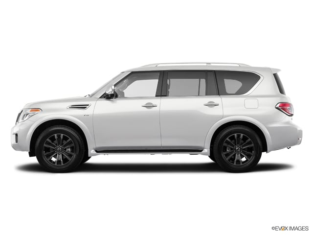 Photo Used 2018 Nissan Armada Platinum SUV For Sale in Asheville, NC