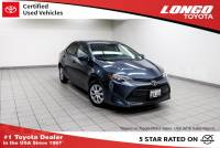 Certified Used 2017 Toyota Corolla L CVT Automatic in El Monte