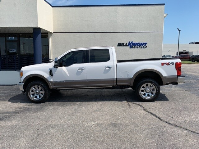 Photo Certified Used 2019 Ford F-250SD King Ranch Truck Power Stroke V8 DI 32V OHV Turbodiesel 4WD in Tulsa
