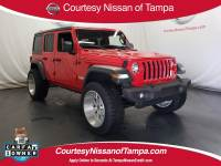 Pre-Owned 2019 Jeep Wrangler Unlimited Sport 4x4 SUV in Jacksonville FL