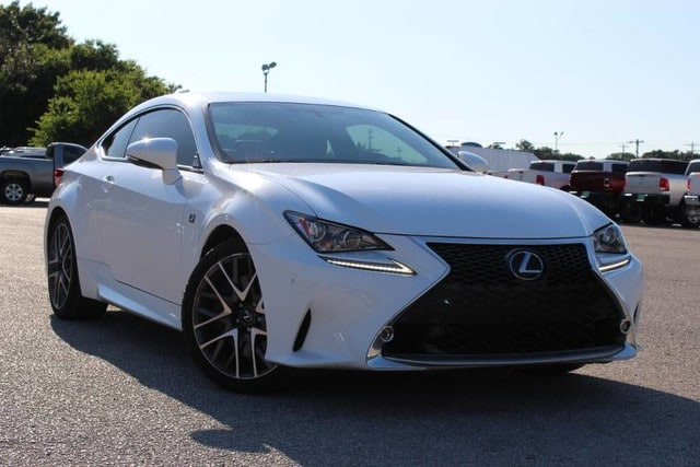 Photo Used 2016 LEXUS RC 350 LEATHER LOADED SUNROOF in Ardmore, OK