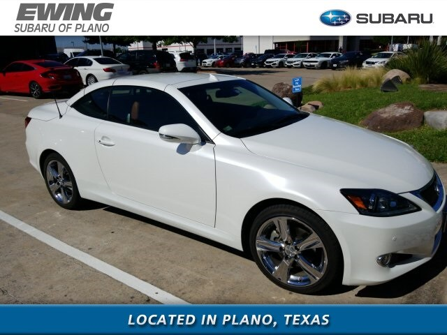 Photo 2012 LEXUS IS 250 C for sale in Plano TX