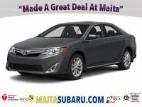 Used 2014 Toyota Camry XLE Available in Sacramento CA
