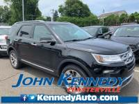 2018 Ford Explorer Limited Sport Utility 6-Cylinder SMPI Turbocharged DOHC Feasterville, PA